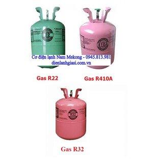 Tìm hiểu 3 loại gas R22 - R410A - R32 dùng cho máy lạnh hiện nay